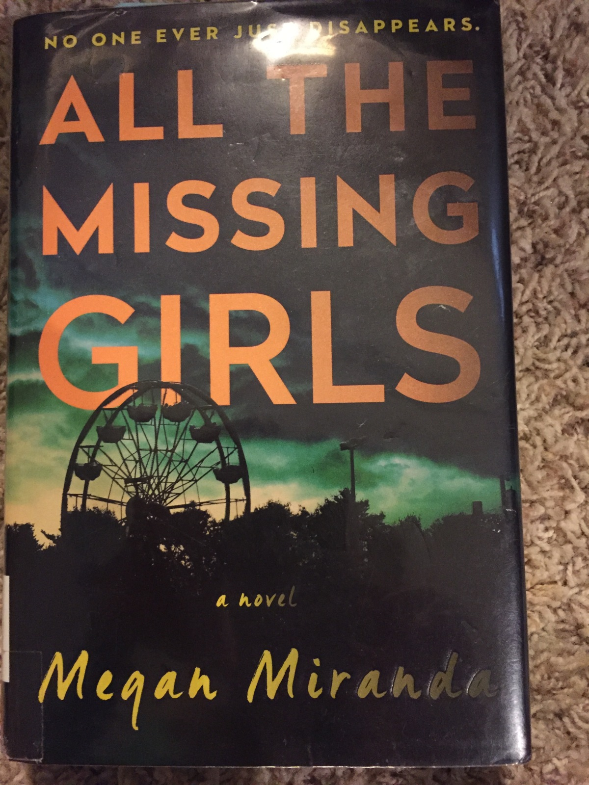 Beach House Book #4 All the Missing Girls by Megan Miranda