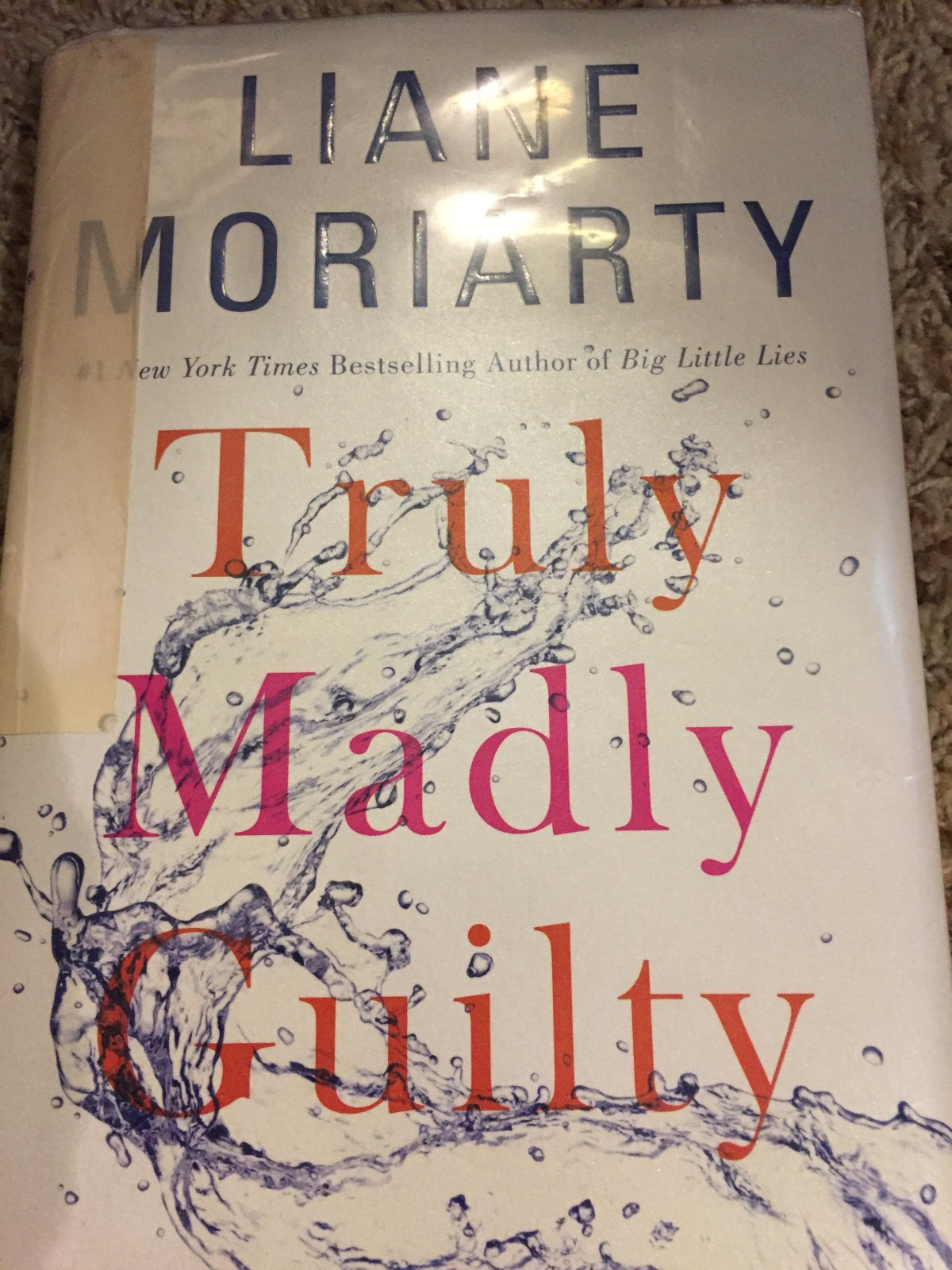 Beach House Book #3 – Truly Madly Guilty by Liane Moriarty